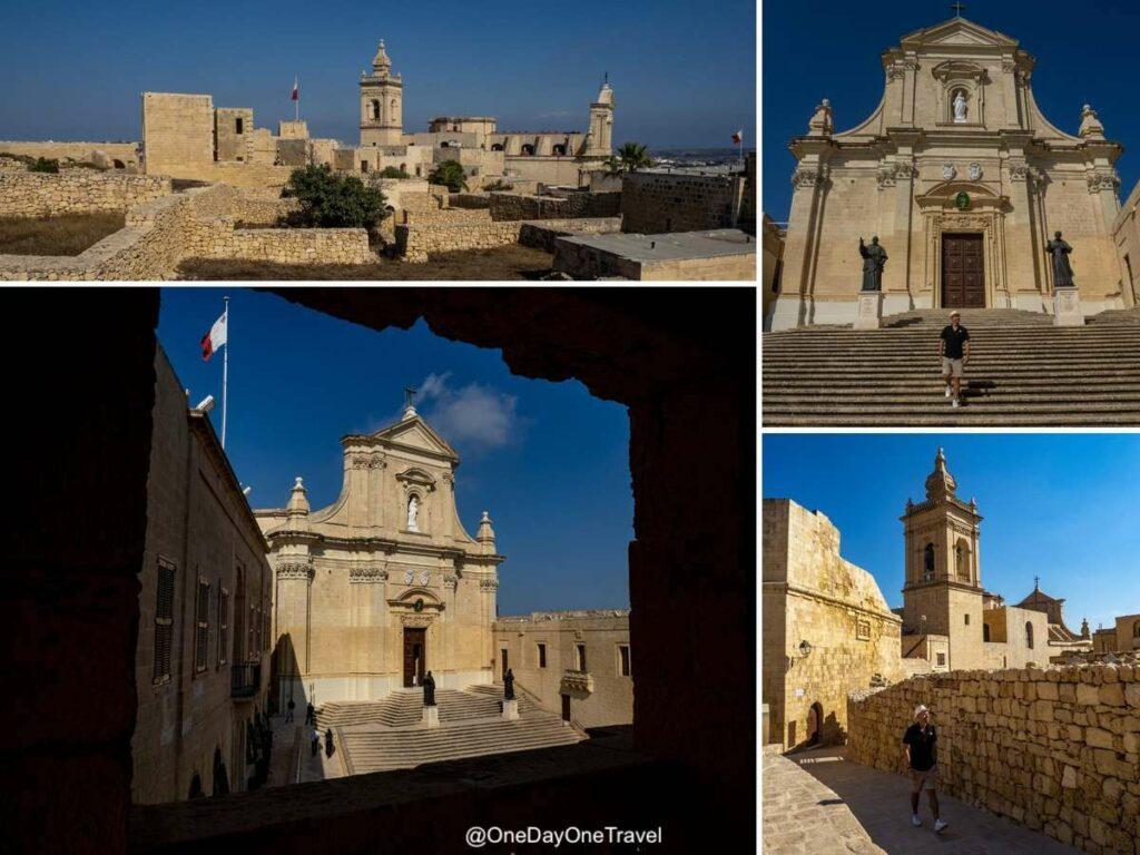 Visite guidée de la citadelle de Gozo - Visiter Malte au travers de son architecture et de son Histoire