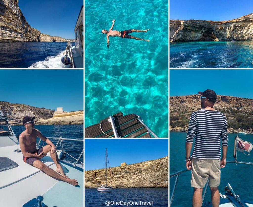 Boat trip excursion à la journée autour de l'île de Gozo - Visiter Malte pour la première fois