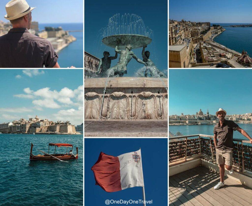 Visiter Malte pour la première fois - City guide La Valette