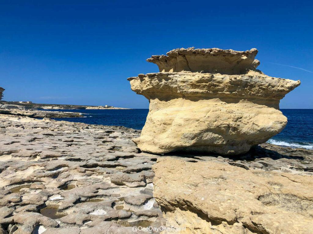 St Peter's pool : Visiter Malte pour la première fois - Guide de voyage