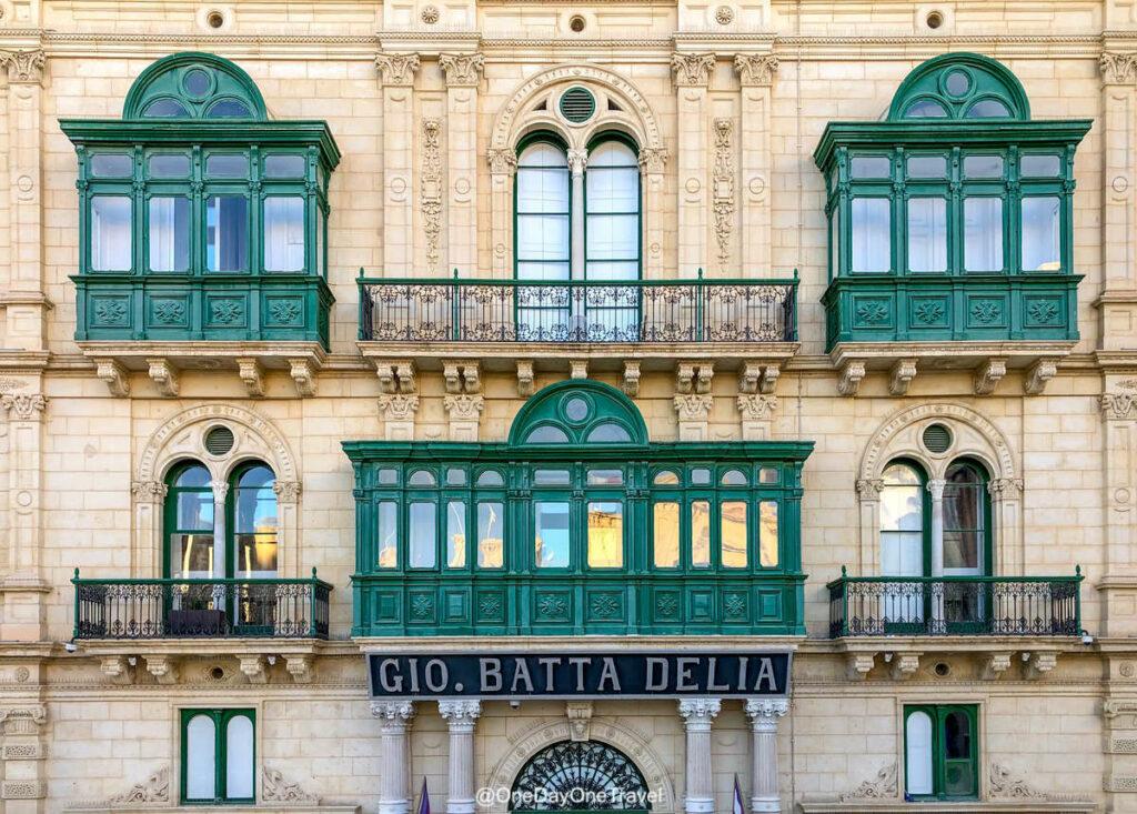 Balcons de La Valette - Visite guidée de Malte
