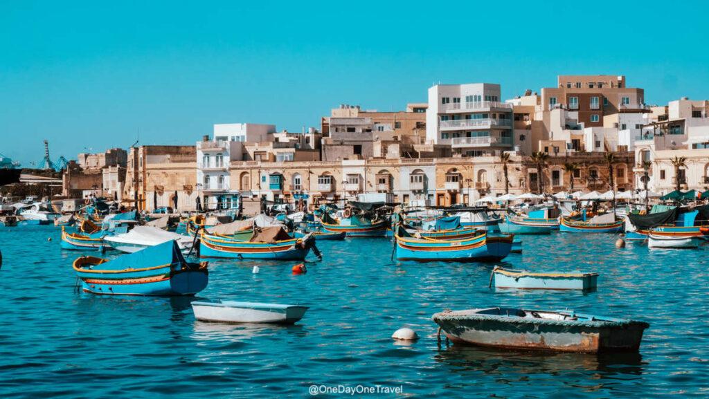 Visiter Malte et le port de pêcheurs de Marsaxlokk