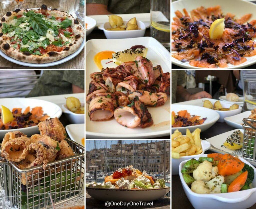 Où manger et où boire un verre à Malte et Gozo ? Conseils du blog voyage OneDayOneTravel