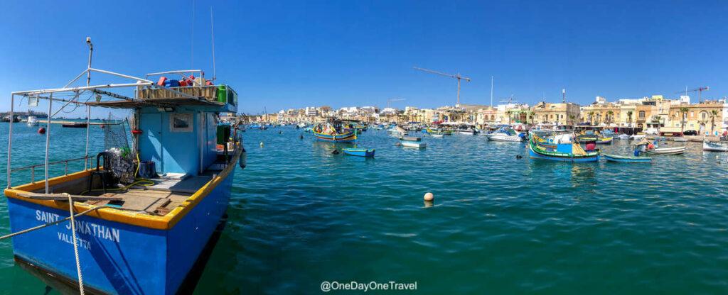 Port de Marsaxlokk - Explorer Malte et ses traditions