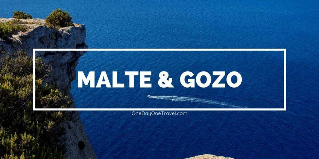 Visiter Malte pour la première fois : Sites à ne pas rater et conseils - Article de blog voyage OneDayOneTravel