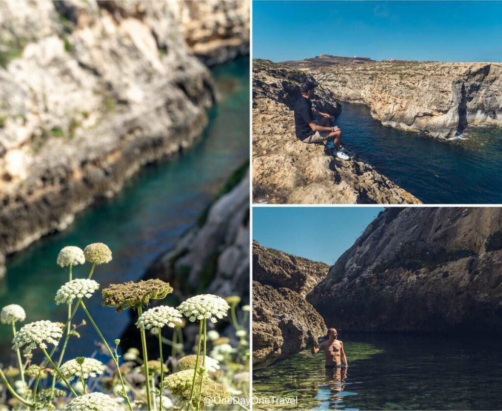 Wied il Ghari à Gozo