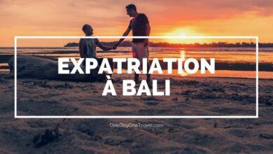 Expatriation à Bali