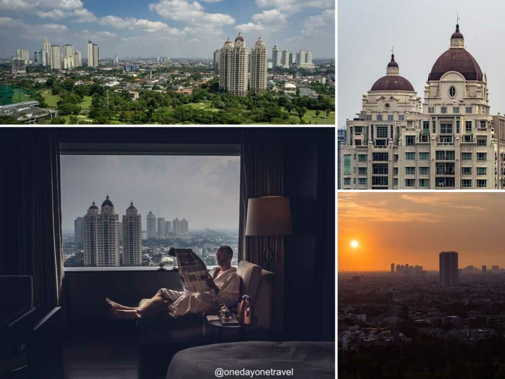 Fairmont Jakarta hôtel quarantaine Indonésie Bali