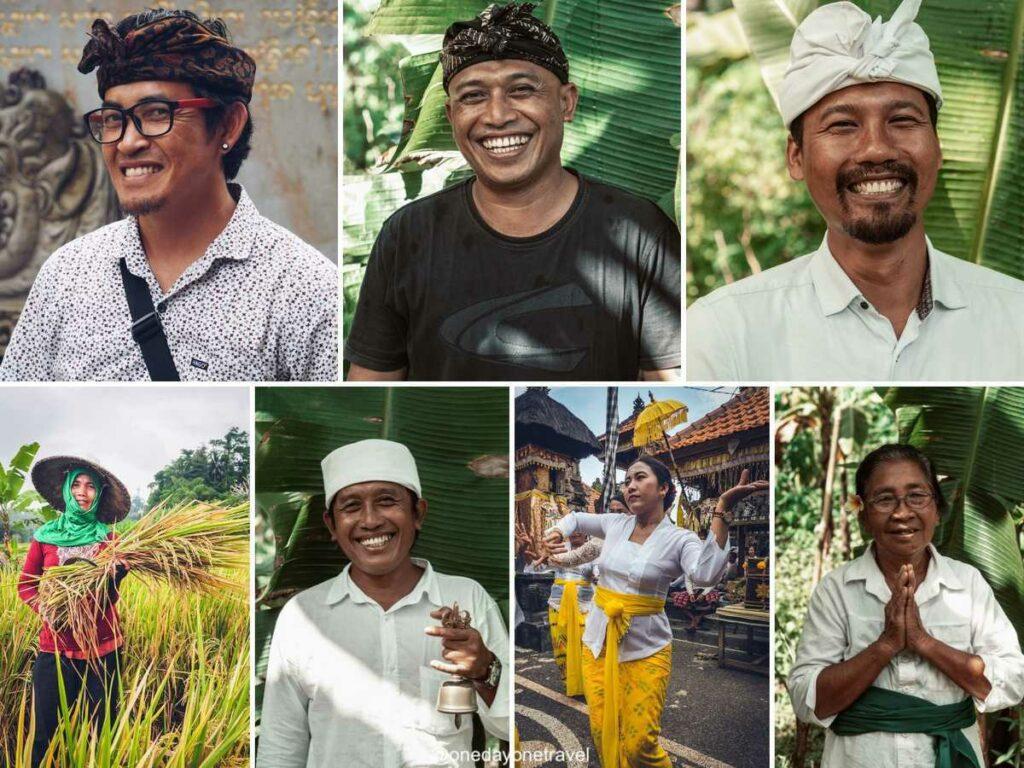 Sourire des balinais malgré la crise de la Covid 19 à Bali