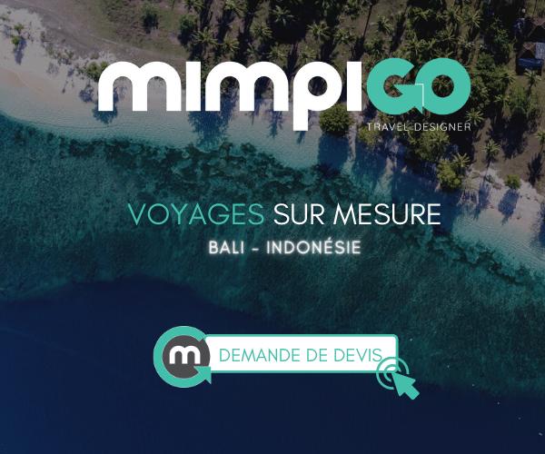 MimpiGO, agence de voyages sur mesure à Bali en Indonésie